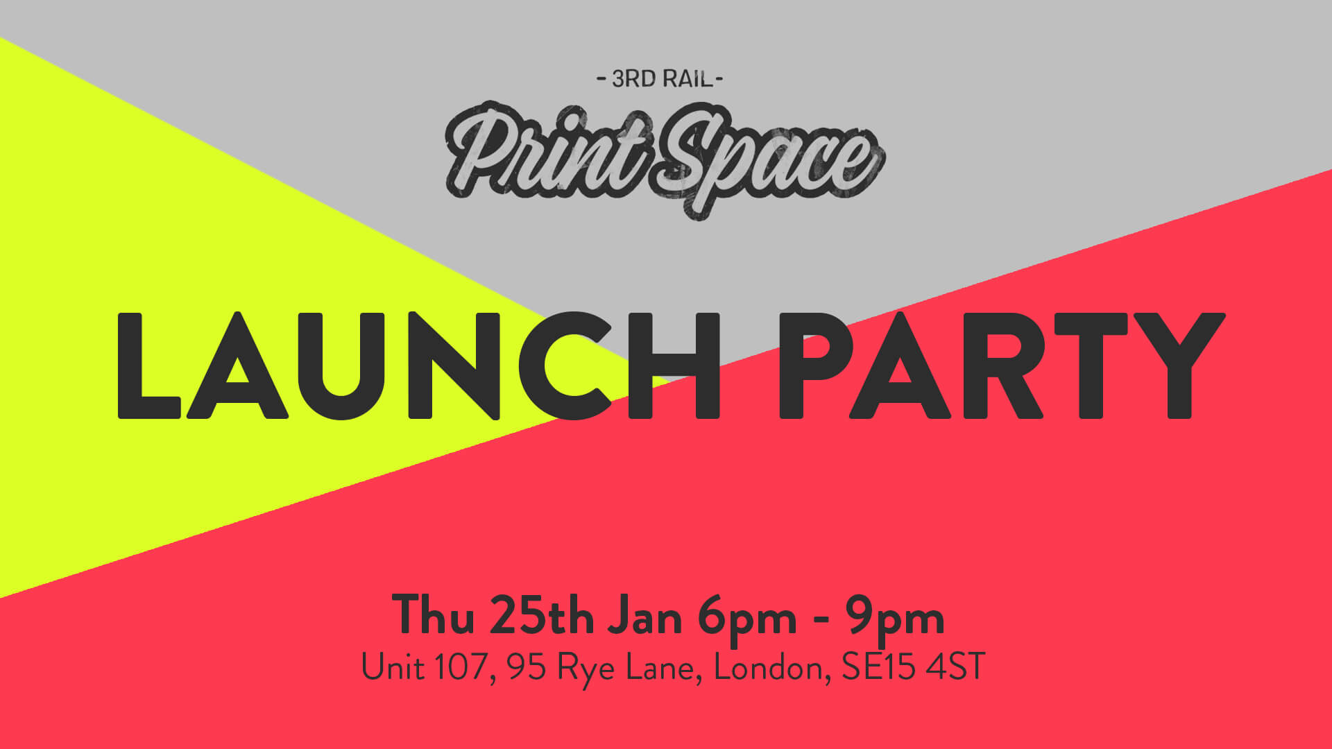 London's Biggest Open Access Screen Printing Studio is Launching!