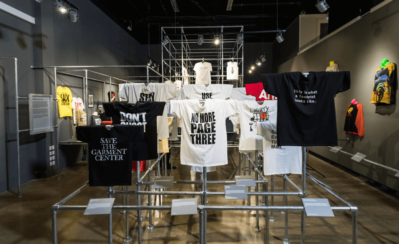T-Shirt: Cult, Culture and Subversion, Fashion and Textile Museum