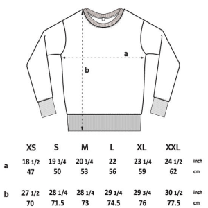 EP62 Continental Clothing Classic Unisex Sweatshirt