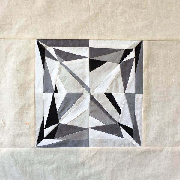 Princess Cut Diamond Quilt Block, 3rd Story Workshop