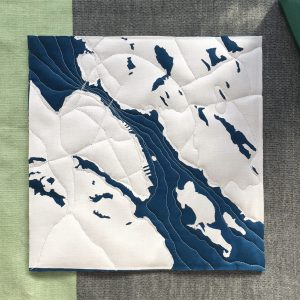 Halifax Dartmouth Map, Nova Scotia, Andrea Tsang Jackson, 3rd Story Workshop, Quilted Map