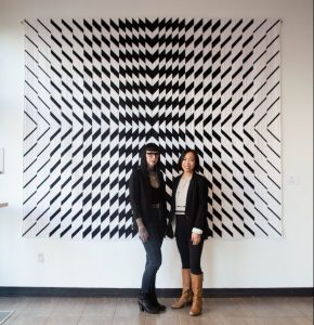 Andrea Tsang Jackson and Libs Elliott. Facets exhibition, DesignTO 2020. Toronto.