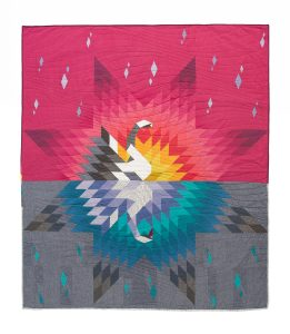 Swan Quilt, Andrea Tsang Jackson, 3rd Story Workshop, Quilt Pattern