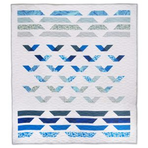 Keephouse X 3rd Story Workshop - Guided Flight Quilt Pattern. Andrea Tsang Jackson