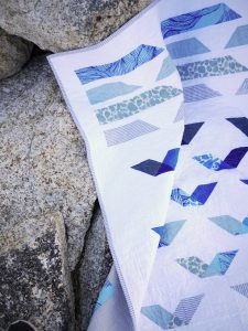 Keephouse X 3rd Story Workshop - Guided Flight Quilt Pattern