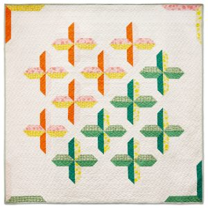 Modern Quilt Pattern - 3rd Story Workshop - The Positive Side