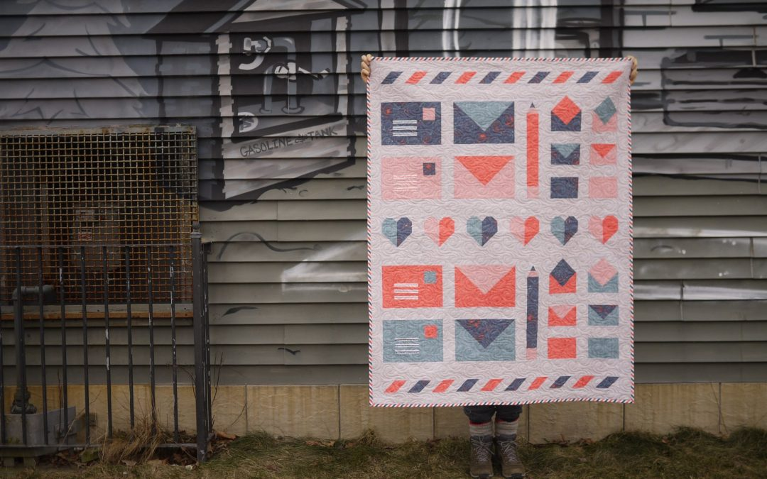 New Express Post Pattern + Free Mini Quilt Along!