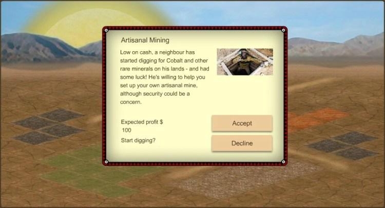 3rd world farmer artisinal mining