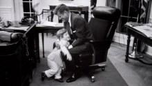 JFK in Washington Chair