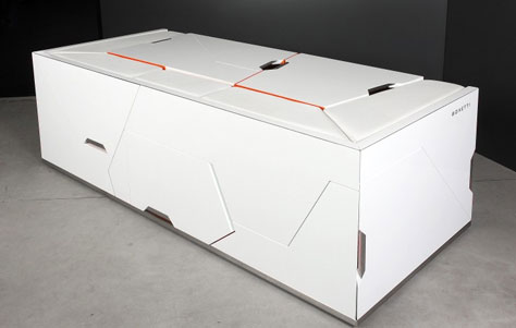 bedroom in a box by rolands landsbergs for boxetti - 3rings