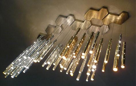 Image: ilan.el's Radiant Rain Chandelier