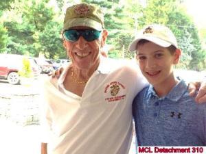 Jack Mennis and Grandson Zack