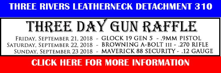3 Day Gun Raffle