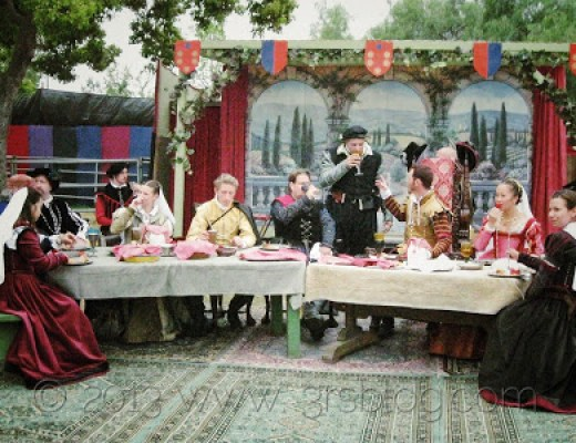 WW: Change–Outdoor Dining, circa 1600