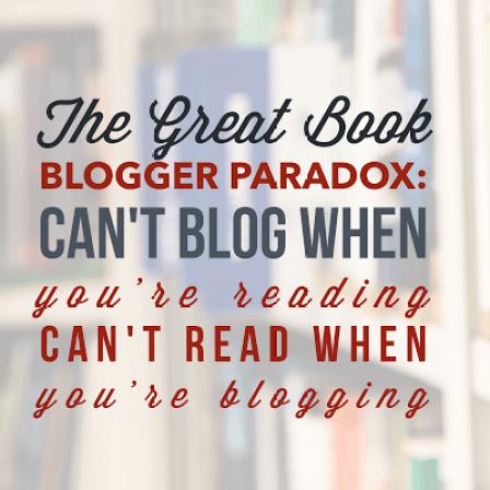 book blogger paradox defined