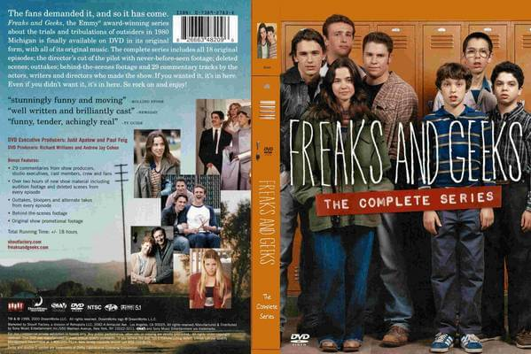 A Fan(Girl)'s Notes: FREAKS AND GEEKS and My 5 Favorite Episodes