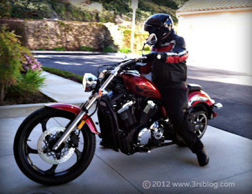 Friday Foto: Man on Motorcycle