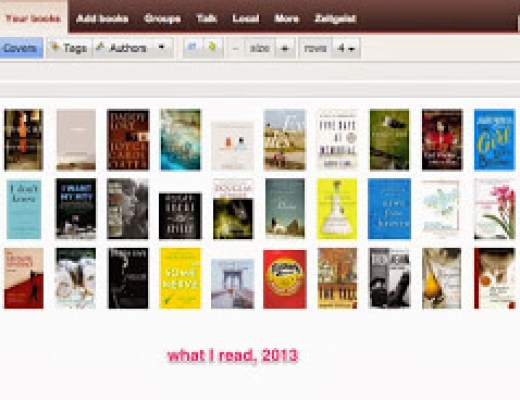 Flashback Friday: What I Read in 2013