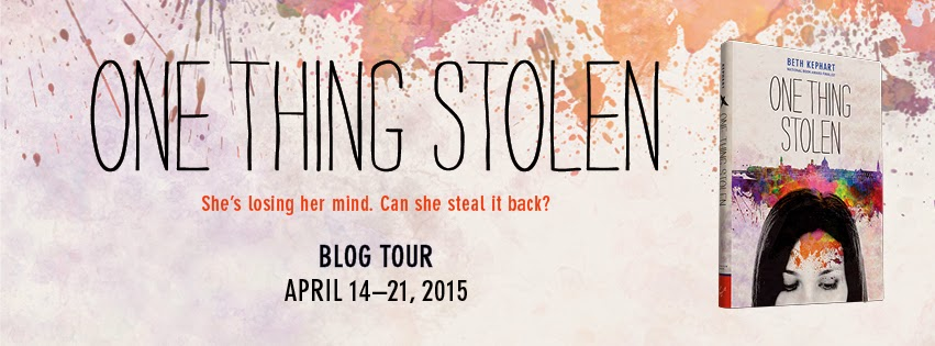 Beth Kephart in Conversation: ONE THING STOLEN (Blog Tour Guest Post)
