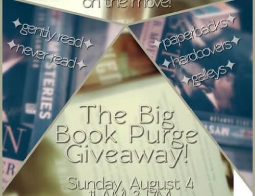 Sunday Salon: Book Purge Day Edition