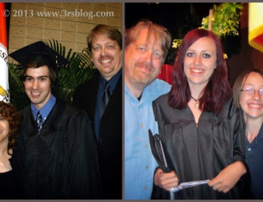 Wordless Wednesday: Proud Dad With Grads