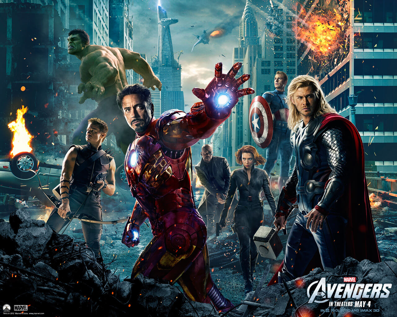 At the movies: *The Avengers*
