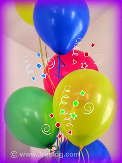 Celebration! Balloons!