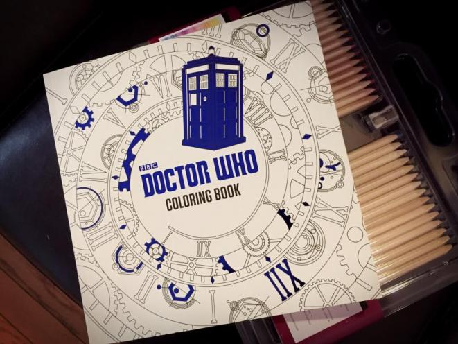 blog break coloring book doctor who