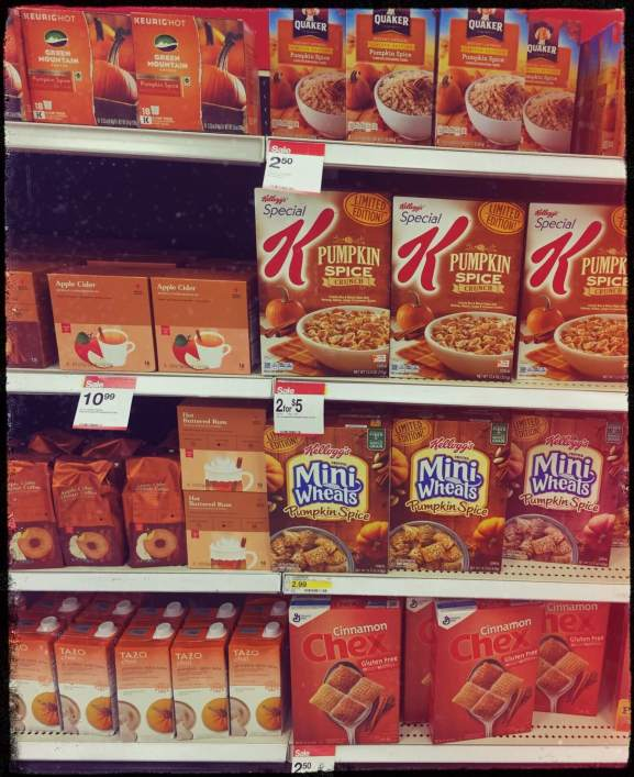 pumpkin spice is taking over