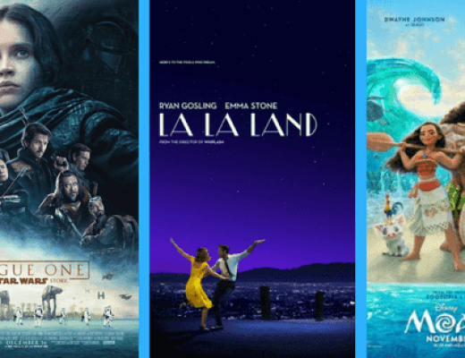 I See Movies: ROGUE ONE, LA LA LAND, MOANA