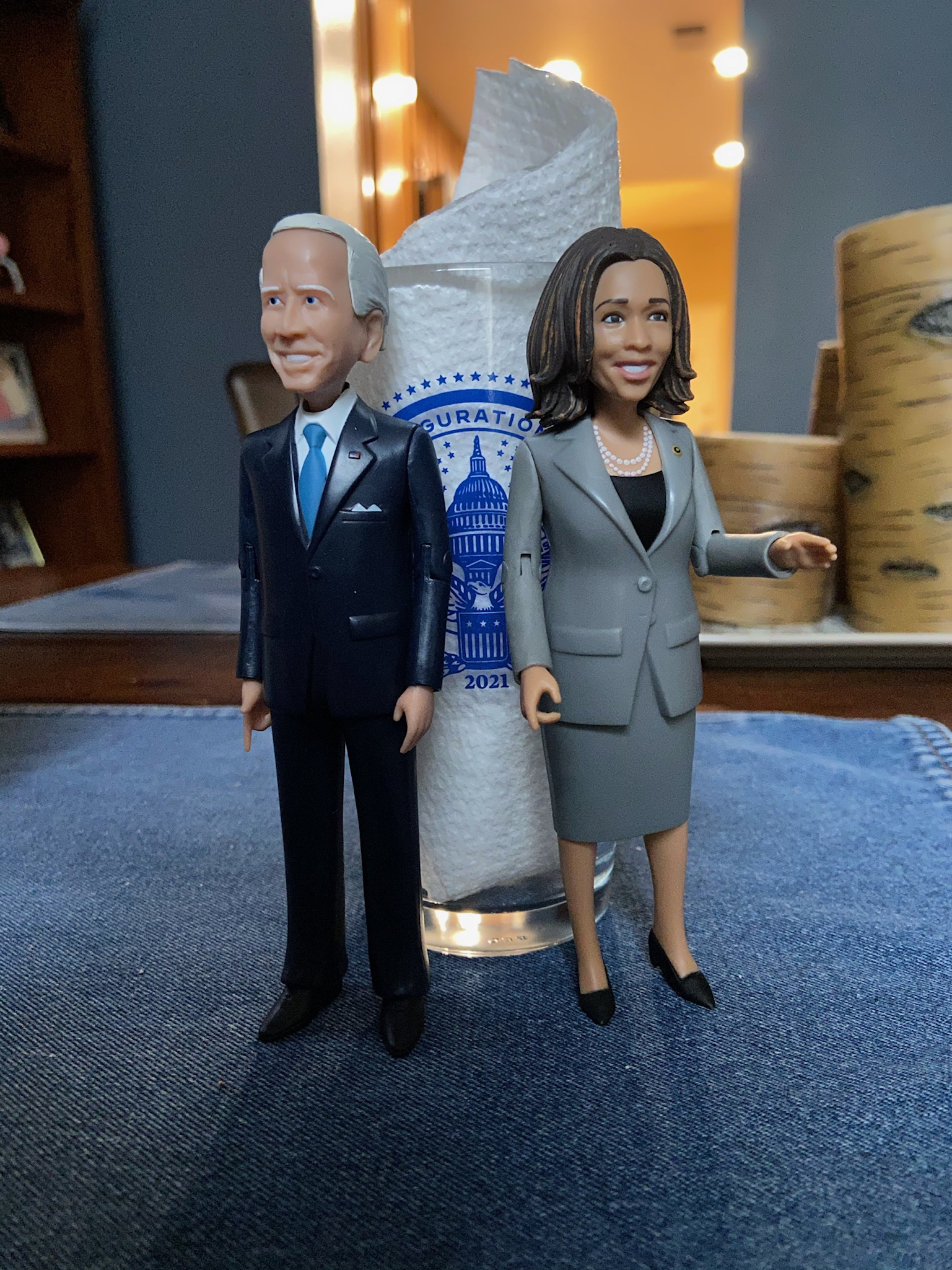 biden harris action figures