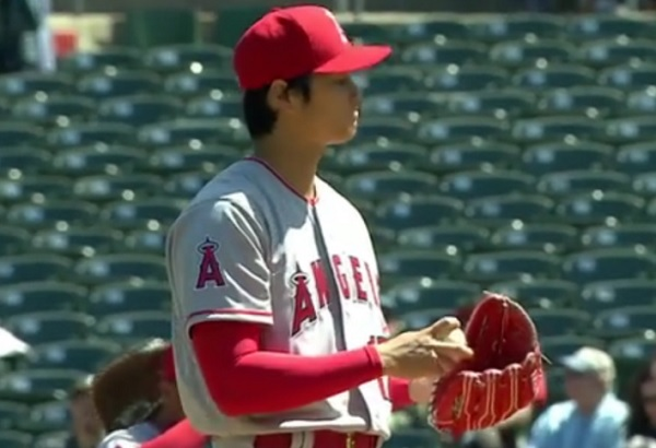 Shohei Ohtani's first pitching outing involved some ugly ...