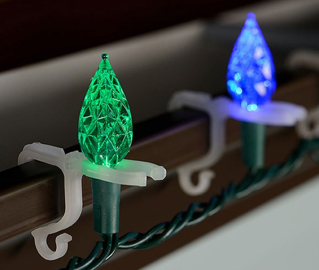 Roof Peak Clips These Clips Are Most Often Used By Professional Christmas Light Installers Because They Require That You Get Close To The Roofs Peak