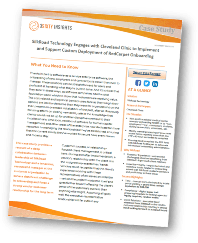 Case Study | Silkroad Technology | Cleveland Clinic