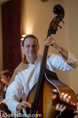 Werner Krotz-Vogel happy to play Contra bass for a change