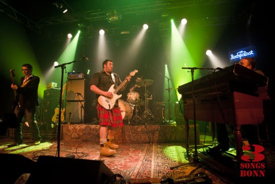 King King sweat it out for Rockpalast last March