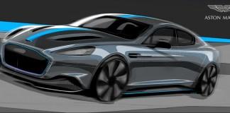 سيارة أستون مارتن رابيد إي الكهربائية بالكامل تدخل مرحلة الإنتاج