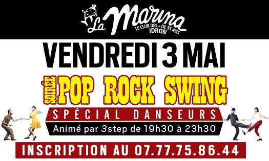 3step - Soirée dansante pop rock swing a la marina - Vendredi 3 mai 2019