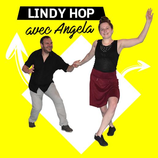 Lindy Hop les mercredis soirs avec Angela à Lescar