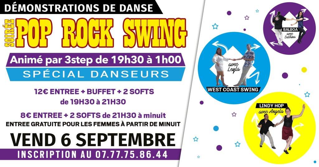 Soirée rock swing à la marina avec démonstrations de danse