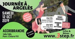 Journée à Argelès accrobranche soirée dansante initiation au Charleston