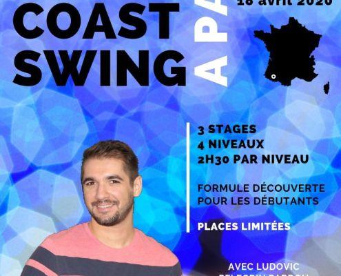 Stage de West Coast Swing avec Ludo