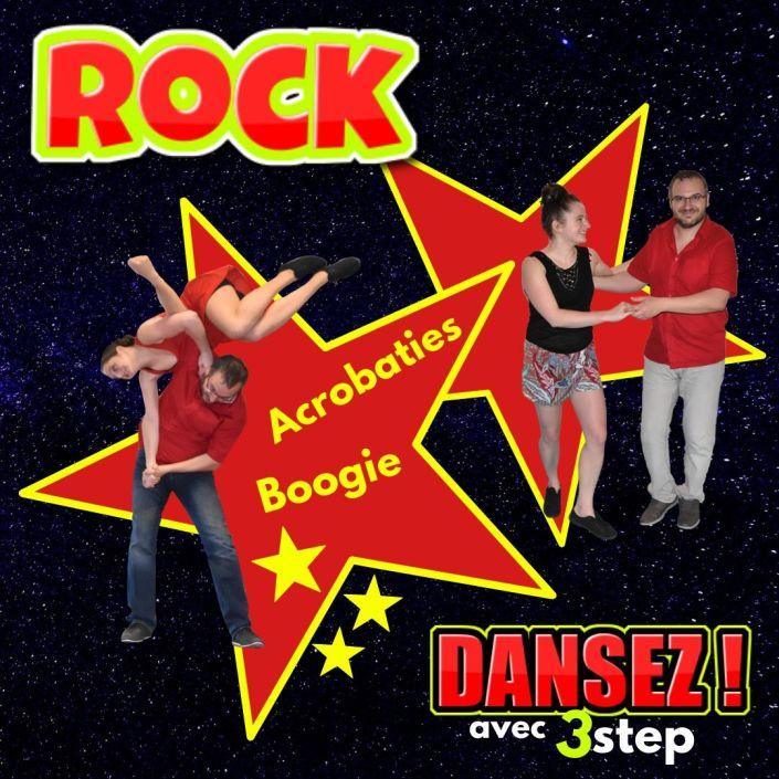 Apprendre a danser le Rock a 3step avec Leo