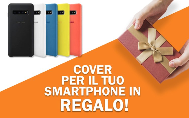 Cover in regalo per Samsung S10