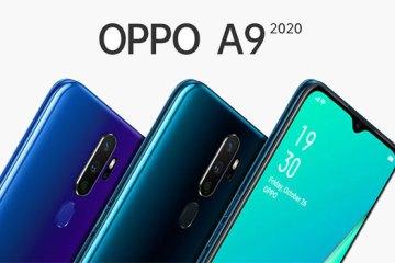 Oppo A9 2020 fronte e retro