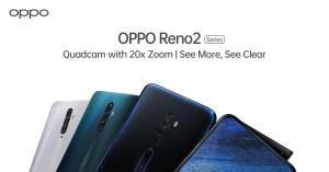 Oppo Reno 2 in varie colorazioni