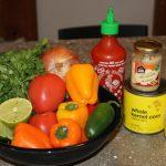Spicy Sriracha Salsa: 3ten.ca #salsa