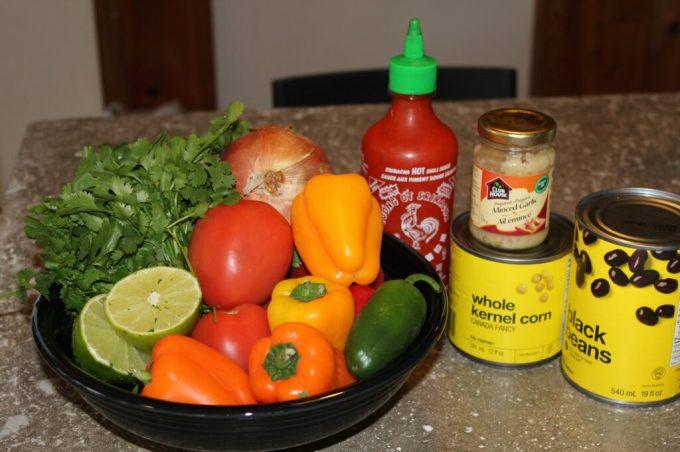Spicy Sriracha Salsa: 3ten.ca