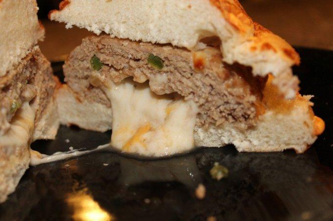 Stuffed Turkey Burgers: 3ten.ca
