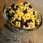Corn Salsa: 3ten.ca #corn #salsa